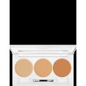 KRYOLAN DERMACOLOR CAMOUFLAGE CREME - paleta 3 kolory
