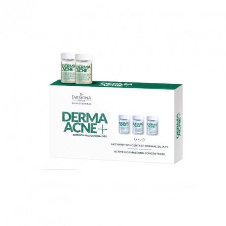 FARMONA PROFESSIONAL DERMAACNE+, Aktywny koncentrat normalizujący 5x5ml