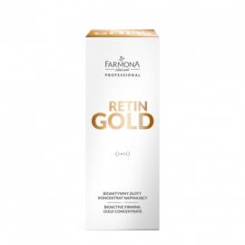 FARMONA PROFESSIONAL RETIN GOLD Bioaktywny złoty koncentrat napinający