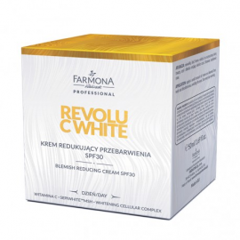 FARMONA PROFESSIONAL REVOLU C WHITE Krem redukujacy przebarwienia SPF30 50ml (dzień)