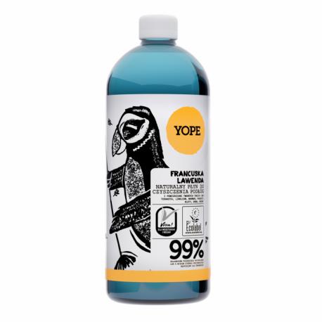 YOPE Naturalny płyn do czyszczenia podłóg FRANCUSKA LAWENDA