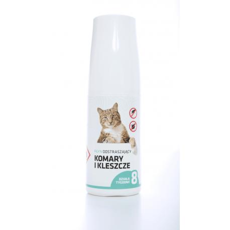 AQUAFOR Spray na kleszcze i komary dla kotów 30ml