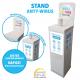STAND ANTY-WIRUS + płyn do dezynfekcji