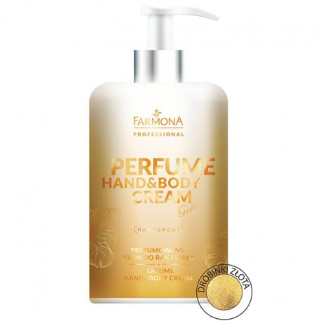 FARMONA Perfume Hand&Body Cream Gold 300ml - perfumowany krem do rąk