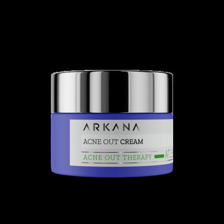 ARKANA Acne Out Cream - krem matujący
