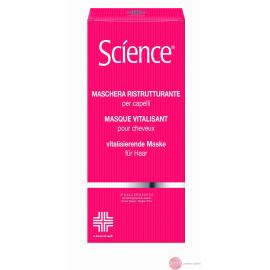 SCIENCE Maska odżywcza do włosów z jedwabiem i amlą 200 ml