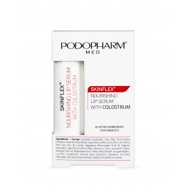 PODOPHARM SKINFLEX Odżywcze serum do ust z colostrum