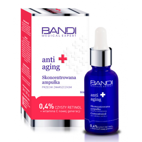 BANDI MEDICAL ANTI AGING skoncentrowana ampułka przeciw zmarszczkom
