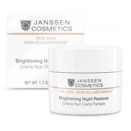Janssen FAIR SKIN - Brightening Night Restore Krem Rozjaśniający na Noc