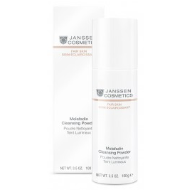 Janssen FAIR SKIN Melafadin Cleansing Powder - łagodny proszek oczyszczający