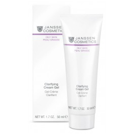 JANSSEN OILY SKIN Clarifying Cream Gel Krem - żel