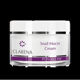 CLARENA Snail Mucin Cream Krem regenerujący ze śluzem ślimaka