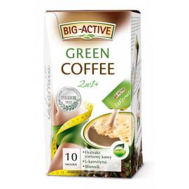 Big-Active La Karnita Green Coffee 2w1+ wspomagająca odchudzanie