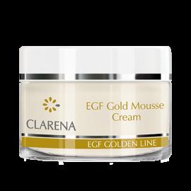 CLARENA EGF Gold Mousse Cream - krem ze złotem koloidalnym